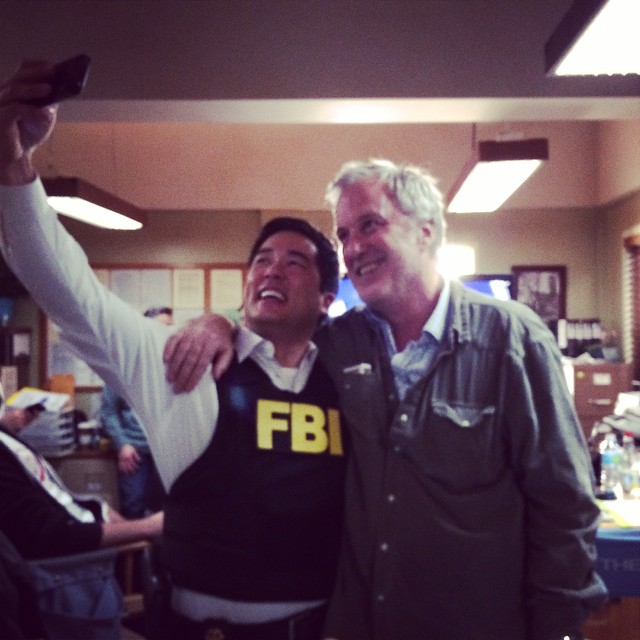 Last Day on Set of The Mentalist