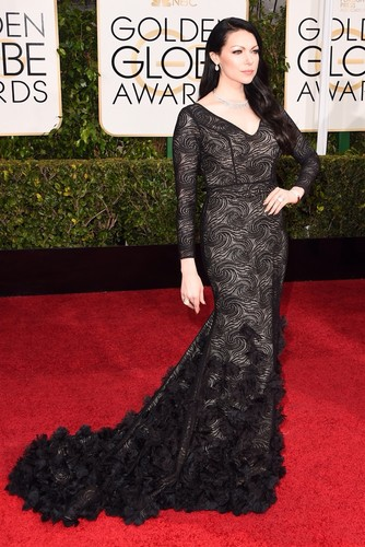 Laura Prepon wallpaper titled Laura Prepon - 72nd Annual Golden Globe Awards