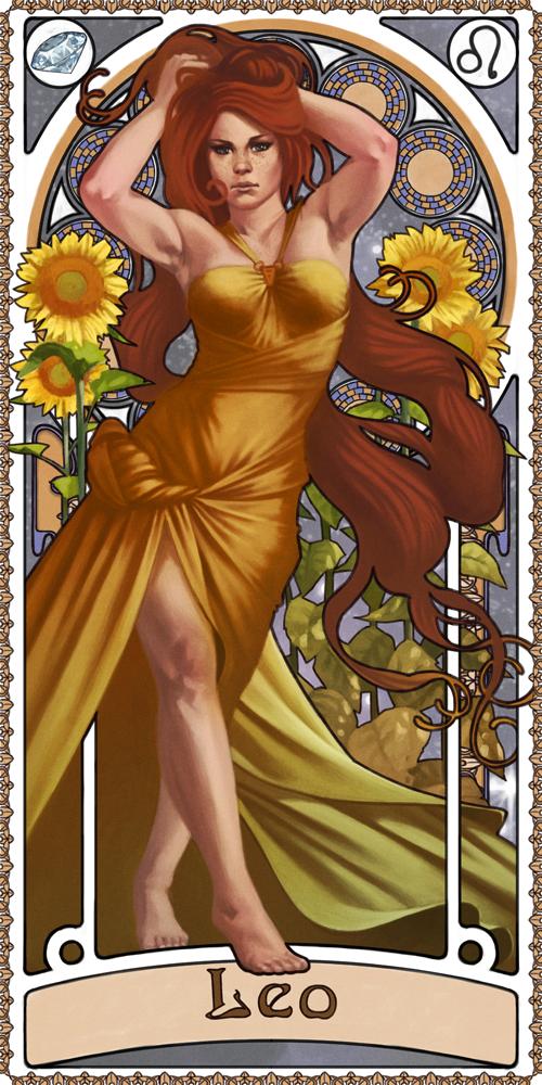 Leo - Astrology Fan Art (37954717) - Fanpop