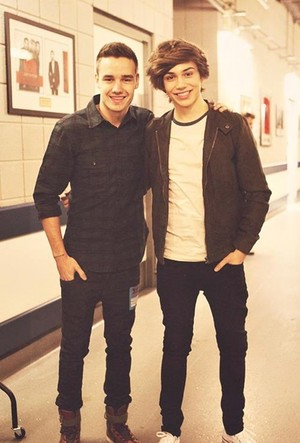Liam and George