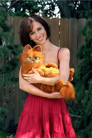 Liz and Garfield