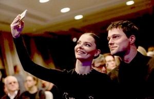 "Liza and Danila at the ""Stanislavsky"" Awards"