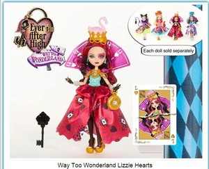 Lizzie Hearts Way too Wonderland 2015