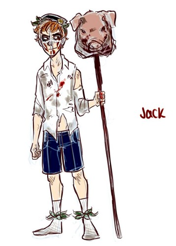 Lord of the Flies wallpaper called Lord Of The Flies Jack Merridew drawing