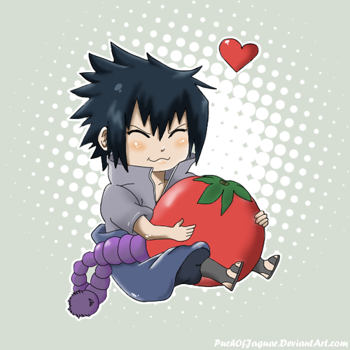 Sasuke Ichiwa fond d'écran possibly containing animé titled l'amour of Tomatoes