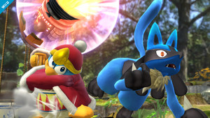 Lucario vs. King Dedede