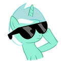 Lyra With Sunglasses