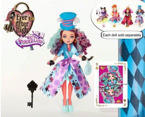Ever After High wallpaper called Madeline Hatter Way too Wonderland 2015