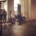 Mads Mikkelsen on the set of 'Hannibal' - hannibal-tv-series photo