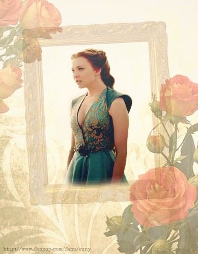 Game of Thrones fond d'écran possibly containing a bouquet entitled Margaery Tyrell fan art