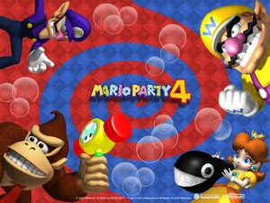 Mario Party 4 Background