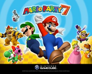 Mario Party 7 Background