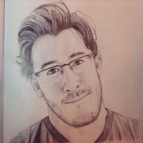 Markiplier karatasi la kupamba ukuta possibly with a portrait called Mark Fischbach