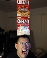 Mark and Cheez-Its