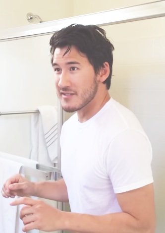 Markiplier karatasi la kupamba ukuta probably containing a portrait entitled Markiplier's Ice Bucket Challenge