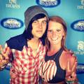 Me and Kellin Quinn @ warped tour 2012 - sleeping-with-sirens photo
