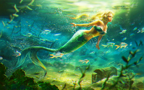 Mermaid - fantasy Photo