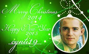 Merry বড়দিন 2014 & Happy New বছর 2015 cynti19!