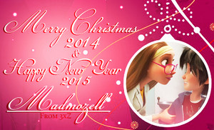 Merry Christmas 2014 & Happy New Year 2015 Madmozell!