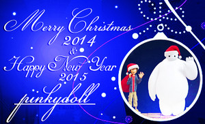 Merry Christmas 2014 & Happy New Year 2015 pinkydoll!