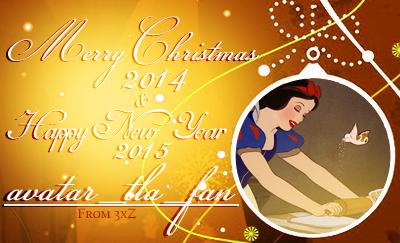 クリスマス 壁紙 with a sign titled Merry クリスマス 2014 & Happy New 年 2015 avatar_tla_fan!