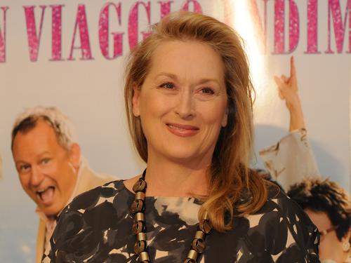 Meryl Streep wallpaper with a portrait entitled Meryl Streep