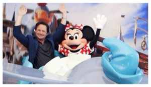 Michael J Fox {voice of Milo from Atlantis the Lost Empire} at Disneyworld