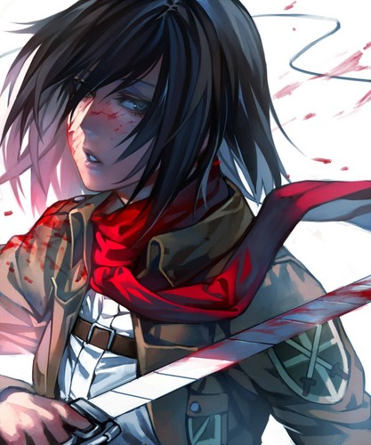 Shingeki no Kyojin (Attack on titan) wallpaper titled Mikasa Ackerman