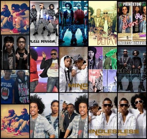Mindless Behavior fond d'écran with animé and a newspaper titled Mindless Behavior
