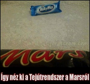Miscellaneous pics - how The Milky Way looks like from Mars