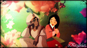 mulan and Aladdin.