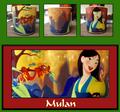 Broken Mulan Mug - disney photo