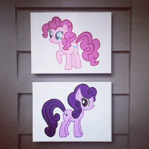 My Little pony Custom Canvases