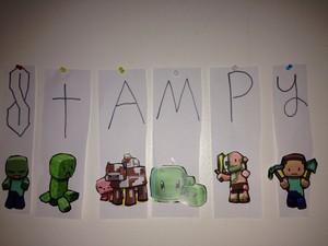 My Stampy strips