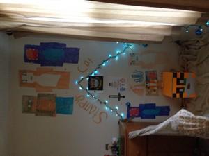 My bedroom دیوار