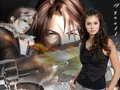 NINA DOBREV AND FAKE FANS SQUALL LEONHART