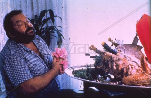 Bud Spencer fondo de pantalla containing a barbecue called Nati con la camicia
