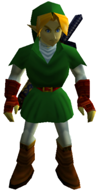 Ocarina of Time Adult Link
