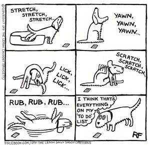 Off The Leash Comic
