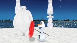 Olaf and Baymax