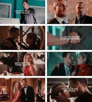 Oliver and Felicity <3 <3 <3