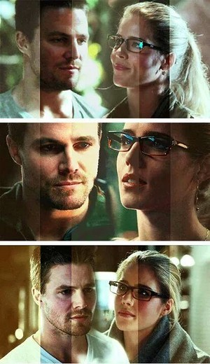 Oliver and Felicity!