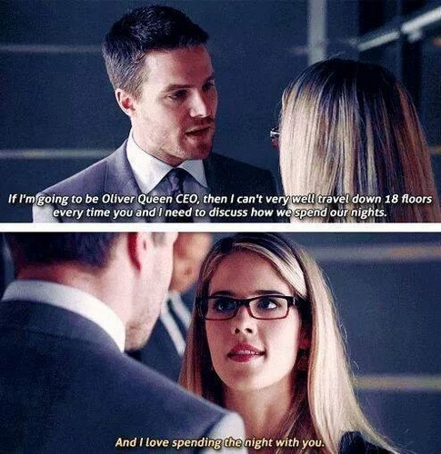 Arrow Oliver And Felicity Quotes. QuotesGram