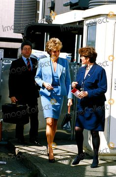 Princess Diana پیپر وال containing a business suit called Patrick Jephson - Pricess Diana and Private Secretary