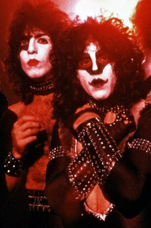 Paul Stanley and Eric Carr