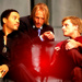 Peeta, Haymitch and Cinna - peeta-mellark icon