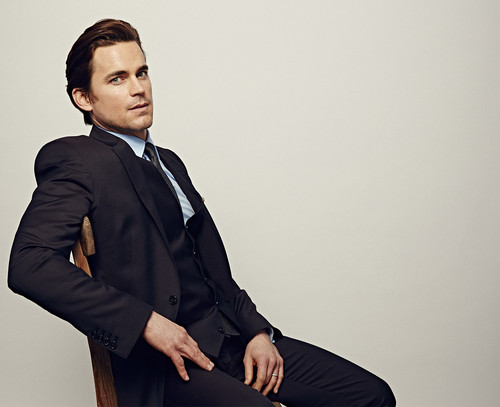 Matt Bomer wallpaper containing a business suit, a suit, and a well dressed person entitled People's Choice Awards 2015 - Celebrity Portraits