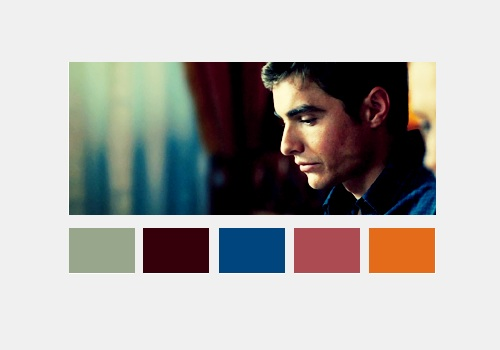 Warm Bodies Movie Hintergrund with a portrait entitled Perry Kelvin | Color Scheme