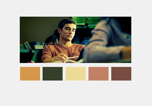 Warm Bodies Movie پیپر وال probably with عملی حکمت and a portrait titled Perry Kelvin | Color Scheme