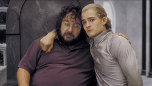 Peter and Legolas 2003